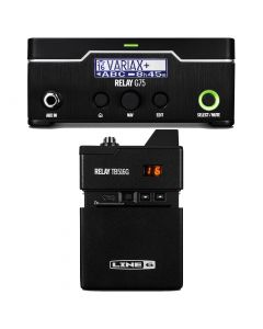 Factory Refurbished RELAY® G75 Digital Guitar Wireless System