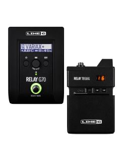Factory Refurbished RELAY® G70 Guitar Wireless System