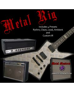 Metal Rig - 4 Preset Pack with IR